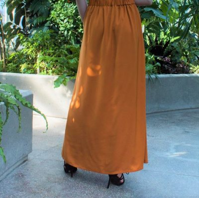 pleated maxi skirt modest stylish fashion flare